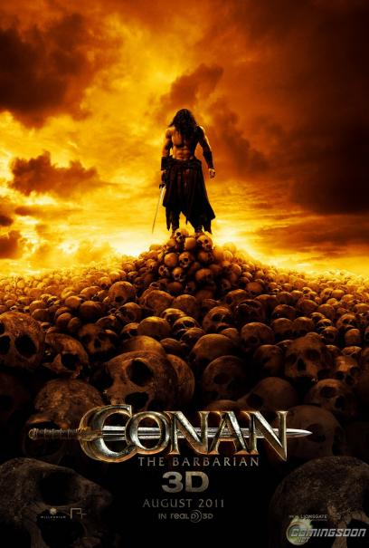 Top Conan the Barbarian, affiche et résumé du film | French Divx Covers BZ66